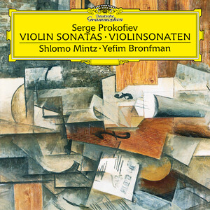 Prokofiev: Sonata for Violin and Piano No.1 in F Minor; Sonata for Violin and Piano No.2 in D