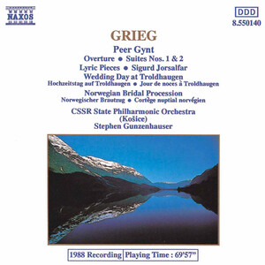 Grieg: Peer Gynt Overture and Suites; Lyric Pieces; Sigurd Jorsalfar