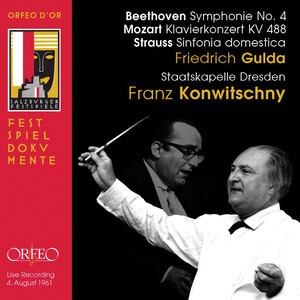 Beethoven, Mozart and Strauss: Works for Orchestra