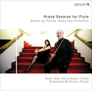 Grand Sonatas for Flute: Works by Pierné, Gade and Prokofiev