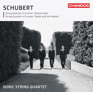 Schubert: String Quartet in A- ('Rosamunde'); String Quartet in D-, D.810 ('Death and the Maiden')