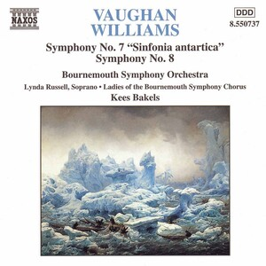 Vaughan Williams: Symphonies Nos.7 ('Sinfonia Antartica') and No.8