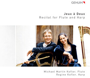 Jeux a Deux: Recital for Flute and Harp
