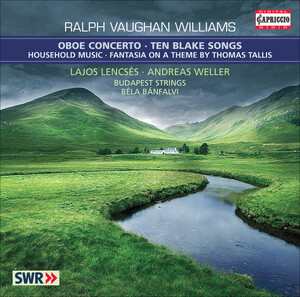 Vaughan Williams: Oboe Concerto; 10 Blake Songs
