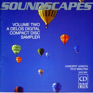 Soundscapes, Vol.2: A Delos Digital Compact Disc Sampler: Works by Wagner, Beethoven, etc.