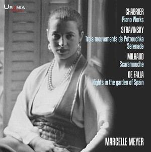 Chabrier, Stravinsky, Milhaud and De Falla: Piano Works