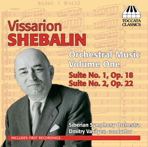Shebalin: Orchestral Music, Vol.1