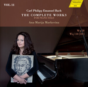 C.P.E. Bach: The Complete Works for Piano Solo, Vol.11