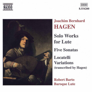 Joachim Bernhard Hagen: Solo Works for Lute