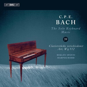C.P.E. Bach: The Solo Keyboard Music, Vol.39