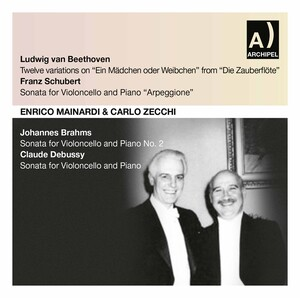 Beethoven, Schubert, Brahms & Debussy: Works for Cello & Piano