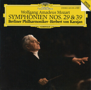 Mozart: Symphonies No.29 and 39