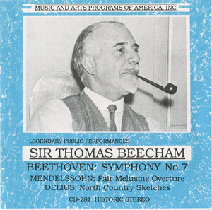Beecham Conducts Beethoven, Mendelssohn and Delius