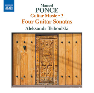 Ponce: Guitar Music, Vol.3