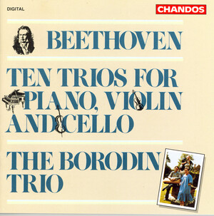 Beethoven: Ten Trios for Piano, Violin and Cello