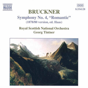 "Bruckner: SYMPHONY No. 4 ""ROMANTIC"" (1878/80 version, ed. Haas)"