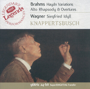 Brahms: Haydn Variations; Alto Rhapsody; Overtures; Wagner: Siegfried Idyll