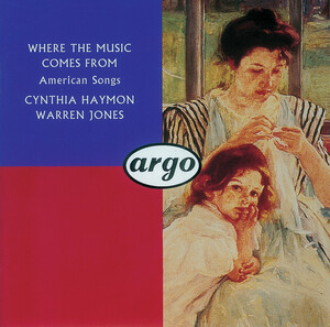 Where the Music Comes From: Solo Vocal Works by Hoiby, Rorem, Barber, etc.