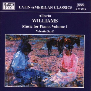 Williams: Music for Piano, Vol.1