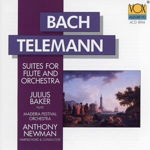 Bach and Telemann: Orchestral Suites