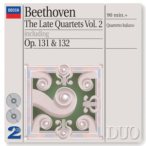 Beethoven: Late Quartets, Vol.2