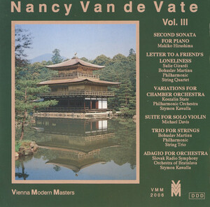 Nancy Van de Vate, Vol.3