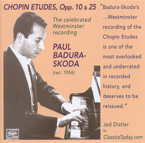 Chopin: Etudes, Op.10 and 25