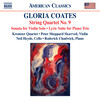 Gloria Coates: String Quartet No. 9; Sonata for Violin Solo; Lyric Suite