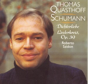 Schumann: Dichterliebe Op48; Liederkreis, cycle of 12 songs Op39