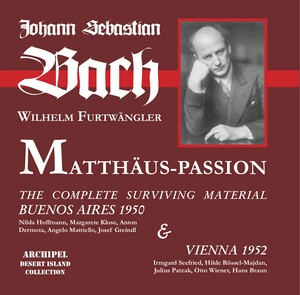 J.S. Bach: St. Matthew Passion, BWV 244 (Excerpts) [Live]