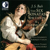 J.S. Bach: The Six Sonatas for Violin and Harpsichord, Vol.1