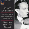 The Historical HMV Recordings 1956: Vol.2; Works for Violin and Piano by Beethoven, Saint-Saëns, Kreisler, etc.