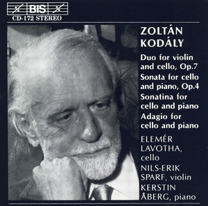 Kodály: Cello Music
