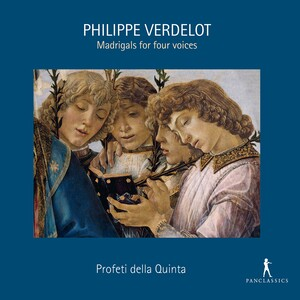 Verdelot: Madrigals for 4 Voices