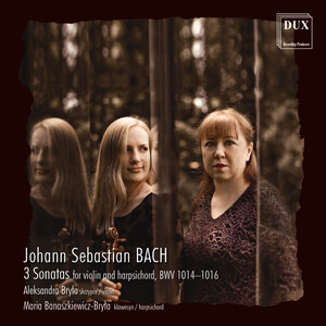 Bach: 3 Sonatas for Violin and Harpsichord