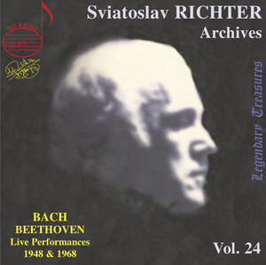 Sviatoslav Richter Archives, Vol.24: Bach and Beethoven (Live)