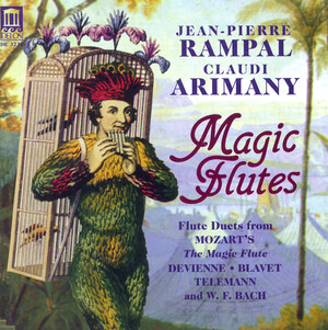 Magic Flutes: Claudi Arimany plays Mozart, Bach, Telemann, etc.