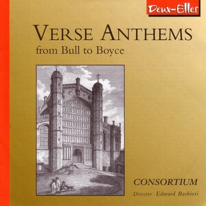 Verse Anthems from Bull to Boyce