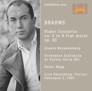 Brahms: Piano Concerto No.2 in B-Flat Major, Op.83 (Live)