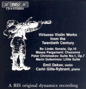 Virtuoso Violin Works of the 20th Century