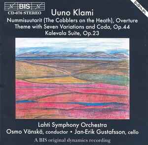 Uuno Klami: The Cobblers on the Heath; Theme with Seven Variations and Coda; Kalevala Suite