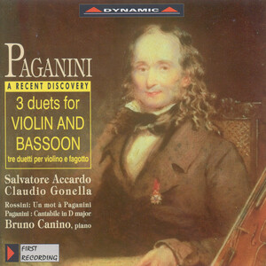 Paganini: 3 Duets for Violin and Bassoon