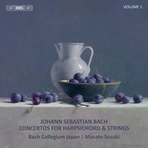 Bach: Concertos for Harpsichord and Strings, Vol.1