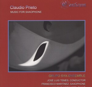 Prieto: Music for Saxophone