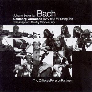 Bach: Goldberg Variations for String Trio