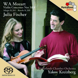 W. A. Mozart: Violin Concertos Nos.3 and 4