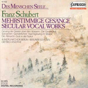 Schubert: Secular Vocal Works