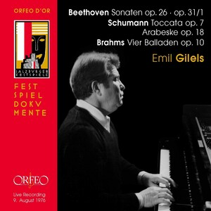 Beethoven, Schumann and Brahms: Piano Works (Live)