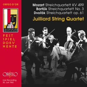 Mozart, Dvořák and Bartók: String Quartets (Live)