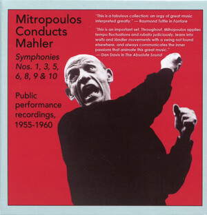 Mitropoulos Conducts Mahler: Public Performance Recordings